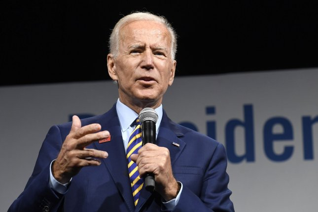 Democratic presidential candidate Joe Biden proposes two years of free college tuition or other vocational training. File Photo by Mike Theiler/UPI