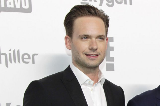 Patrick J. Adams will star in a Broadway revival of Take Me Out. File Photo by John Angelillo/UPI