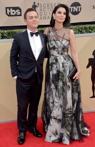 Joe Lo Truglio and Beth Dover arrive for the the 24th annual SAG Awards held at the Shrine Auditorium in Los Angeles on January 21, 2018. Lo Truglio turns 50 on December 2. File Photo by Jim Ruymen/UPI