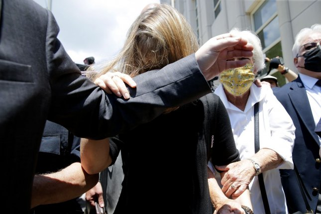 Allison Mack was sentenced to three years in prison on charges of racketeering and racketeering conspiracy for her role in the alleged sex cult NXIVM.Photo by John Angelillo/UPI