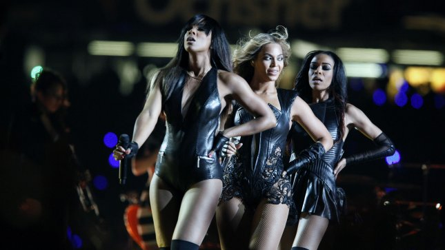 Beyonce performs during the Super Bowl XLVII halftime show at the Mercedes-Benz Superdome on February 3, 2013 in New Orleans. UPI/Bevil Knapp