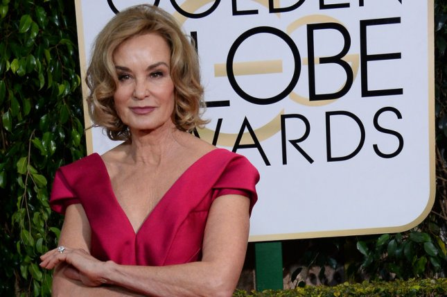 Actress Jessica Lange attends the 72nd annual Golden Globe Awards at the Beverly Hilton Hotel in Beverly Hills, Calif. on Jan. 11, 2015. Photo by Jim Ruymen/UPI