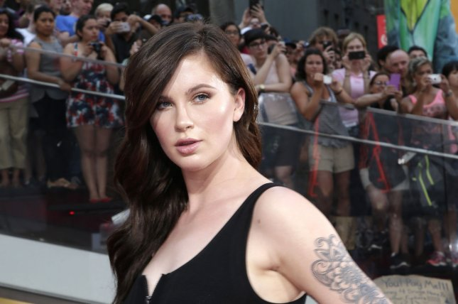 Ireland Baldwin at the New York premiere of 'Mission: Impossible - Rogue Nation' on July 27. The model shared a topless photo Sunday on Instagram. File Photo by John Angelillo/UPI