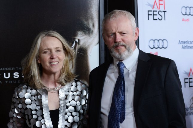 Cast member David Morse and his wife Susan Wheeler Duff in a 2015 file photo by Jim Ruymen/UPI