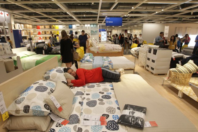 Ikea said fewer than 75 positions will be cut in the United States. File Photo by Bill Greenblatt/UPI