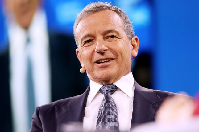 Bob Iger, chairman and CEO of the Walt Disney Co., granted permission for a terminally ill Star Wars fan to watch The Rise of Skywalker weeks before its theatrical release.File Photo by Monika Graff/UPI