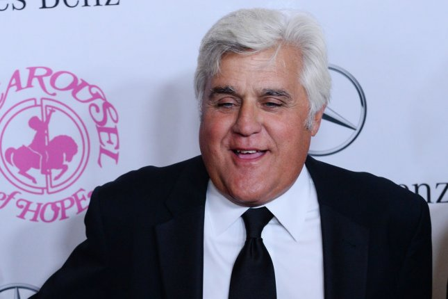 Jay Leno at the Carousel of Hope Ball presented by Mercedes-Benz at The Beverly Hilton Hotel in Beverly Hills, California on October 11, 2014. UPI/Jim Ruymen