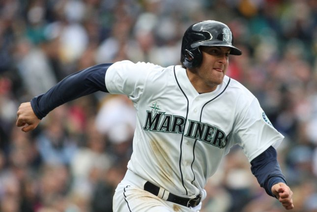 Seattle Mariners' Brad Miller. Photo by Jim Bryant/UPI