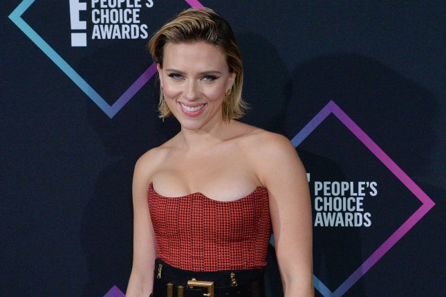 Scarlett Johansson is firing back at paparazzi after the actress said she was pursued following a taping of Jimmy Kimmel Live. File Photo by Jim Ruymen/UPI