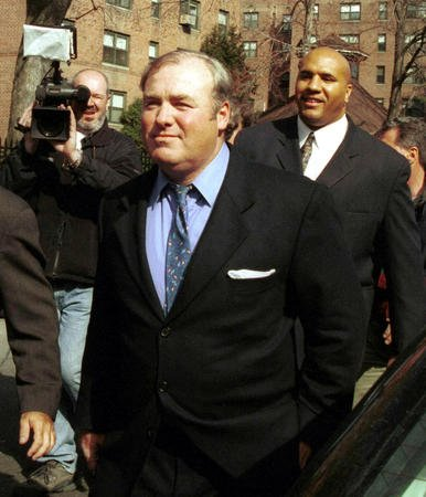 Michael Skakel, pictured in 2000, won't face another trial for the death of Martha Moxley. File Photo by Laura Cavanaugh/UPI