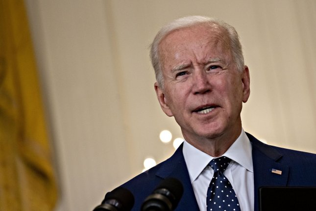 President Joe Biden announced new sanctions on Russia in retaliation for alleged misconduct, including the SolarWinds hack and efforts to disrupt the U.S. election. File Photo by Andrew Harrer/UPI