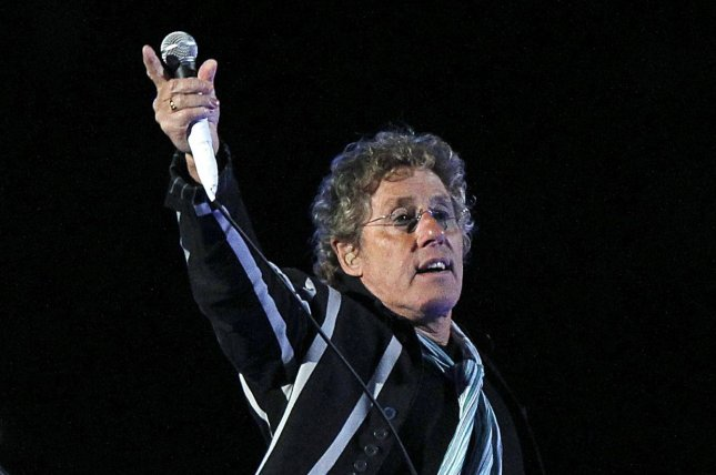Roger Daltrey of The Who performs during halftime at Super Bowl XLIV between the Indianapolis Colts and the New Orleans Saints at Sun Life stadium in Miami on February 7, 2010. UPI/Aaron M. Sprecher