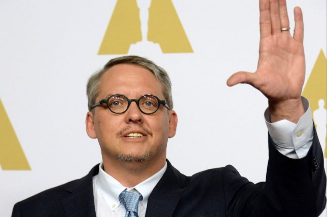 Director Adam McKay supports Vermont Sen. Bernie Sanders' presidential bid, but hopes former Secretary of State Hillary Clinton sees his film The Big Short. File Photo by Jim Ruymen/UPI