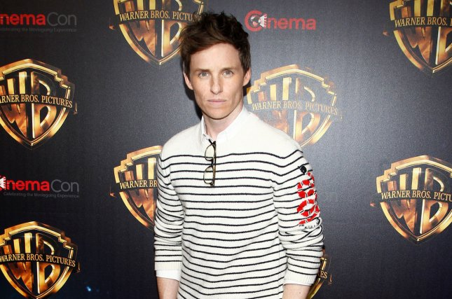 Actor Eddie Redmayne appeared at King's Cross train station in London this weekend for a Back to Hogwarts celebration event. File Photo by James Atoa/UPI