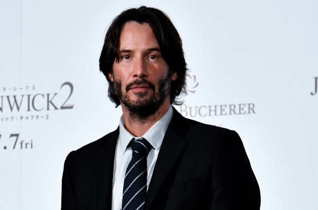 Keanu Reeves stars in the new trailer for John Wick: Chapter 3 - Parabellum alongside Halle Berry. File Photo by Keizo Mori/UPI