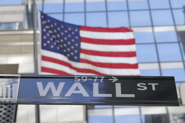 U.S. markets fell Wednesday as July private-sector jobs numbers fell below analysts' expectations amid surging COVID-19 cases. FilePhoto by John Angelillo/UPI