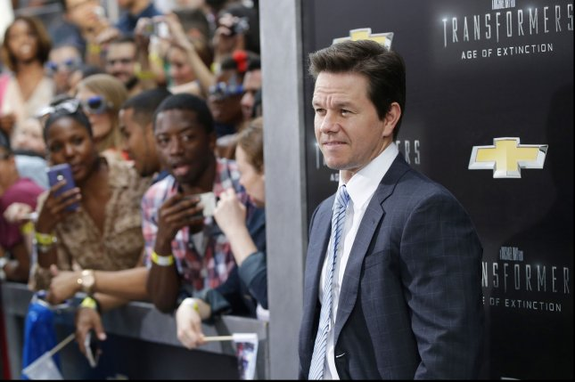 Mark Wahlberg arrives on the red carpet at the New York Premiere of 'Transformers: Age Of Extinction' at the Ziegfeld Theatre in New York City on June 25, 2014. UPI/John Angelillo