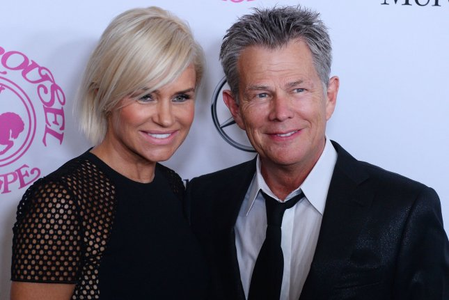 David Foster (R) and Yolanda Hadid at the Carousel of Hope Ball on October 11, 2015. File Photo by Jim Ruymen/UPI