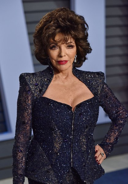 The lives of actress Joan Collins and her sister, author Jackie Collins, serve as the basis for upcoming six-part miniseries Joan & Jackie. File Photo by Christine Chew/UPI
