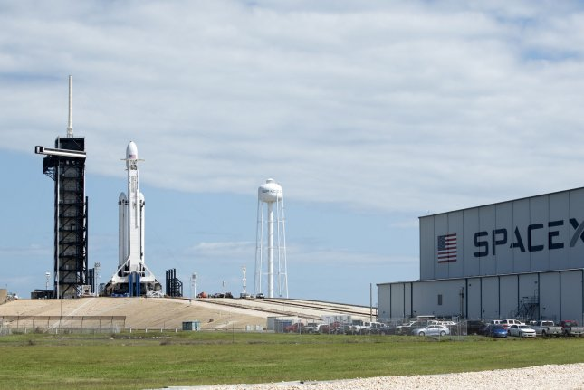 New facilities at Kennedy Space Center, Fla., such as SpaceX's launch complex, are among the new space and technology advances showcased to a global group of innovation professionals visiting this week. Photo by Joe Marino-Bill Cantrell/UPI