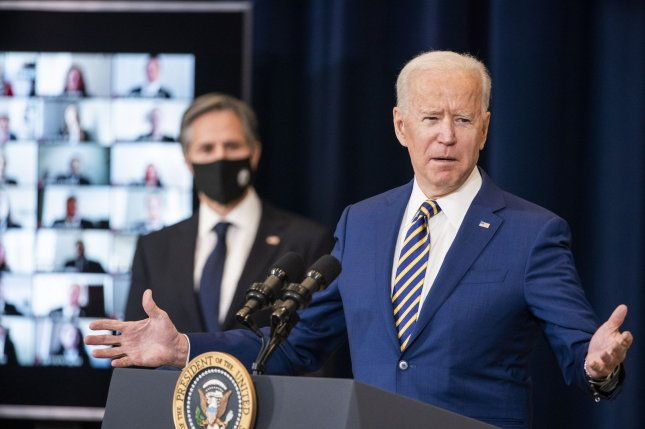 President Joe Biden signed an executive order on Thursday to increase refugee admissions to 125,000 by 2022, reversing Trump administration policies that lowered admissions to historically low levels. Photo by Jim Lo Scalzo/UPI