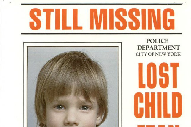 The Police Department of New York City supplied this poster of missing Manhattan schoolboy Etan Patz, who disappeared in 1979 his way to school. UPI/HO