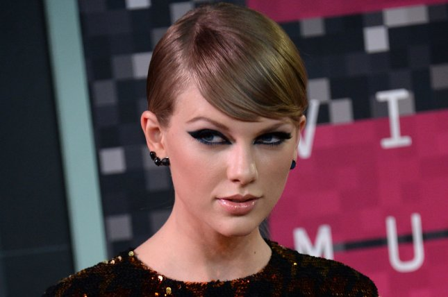 Taylor Swift arrives on the red carpet for the 32nd annual MTV Video Music Awards at Microsoft Theater in Los Angeles on August 30, 2015. File Photo by Jim Ruymen/UPI