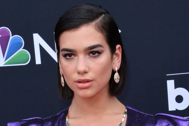 Dua Lipa collaborated with Black Pink on her new song Kiss and Make Up. File Photo by Jim Ruymen/UPI