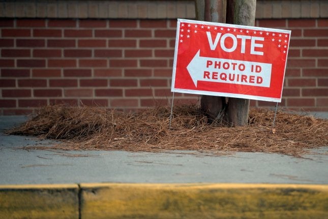 Lawmakers and experts will discuss election security Thursday, 10 months before the U.S. presidential election. File Photo by Kevin Dietsch/UPI