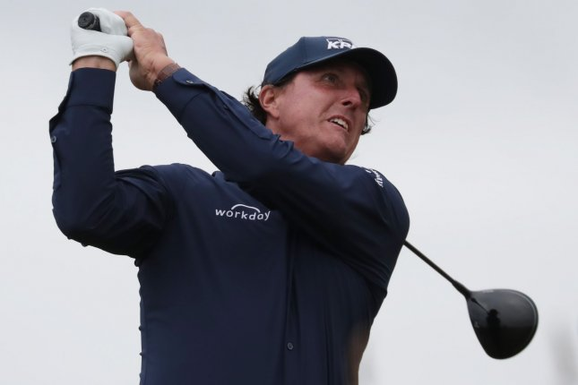 Phil Mickelson's score in the second round of the Travelers Championship was his best in a PGA Tour tournament since recording that same score in the fourth round of the Dell Technologies Championship in 2018. File Photo by Hugo Philpott/UPI