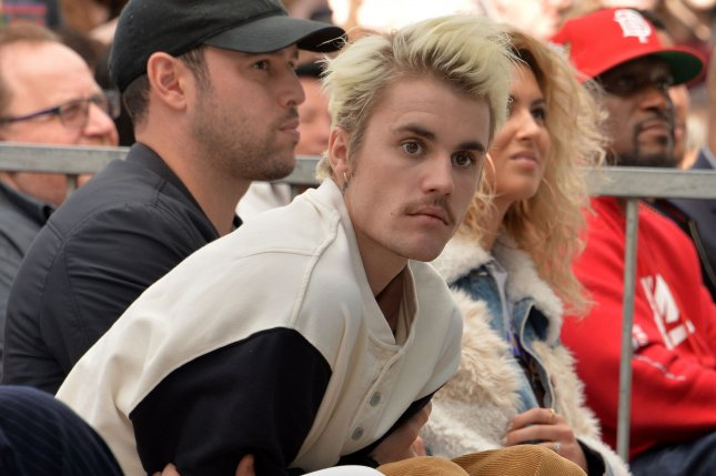 Justin Bieber will attend a virtual panel for his YouTube series, Justin Bieber: Seasons, during PaleyFest LA in August. File Photo by Jim Ruymen/UPI