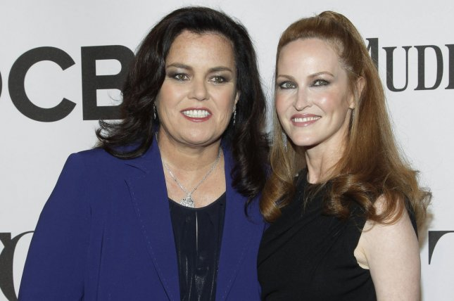 Rosie O'Donnell filed for divorce from wife Michelle Rounds on Friday. File photo John Angelillo
