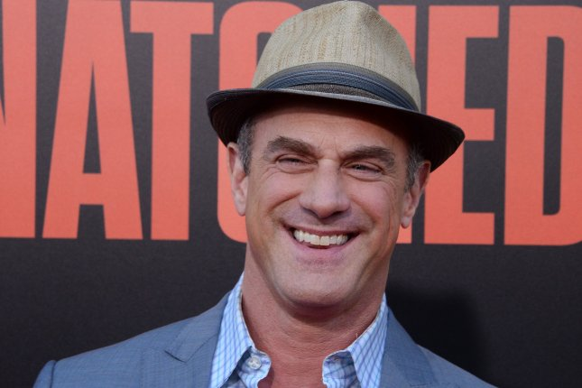 Cast member Christopher Meloni attends the premiere of Snatched in Los Angeles on May 10. Meloni is to star in the NBC series Happy! this fall. File Photo by Jim Ruymen/UPI