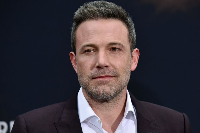 Ben Affleck can be seen as Batman in the new teaser for Zack Snyder's Justice League. File Photo by Chris Chew/UPI