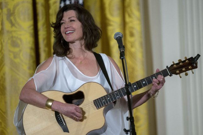 Amy Grant performs during the Easter prayer breakfast in the East Room of the White House in Washington, D.C., on April 7, 2015. The singer turns 60 on November 25. File Photo by Andrew Harrer/ UPI