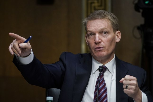FireEye CEO Kevin Mandia testifies during a congressional hearing last week focused on the SolarWinds hack. File Photo by Drew Angerer/UPI
