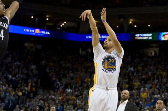The Golden State Warriors and Stephen Curry are in a good position to repeat as NBA Western Conference champions. File photo by Terry Schmitt/UPI
