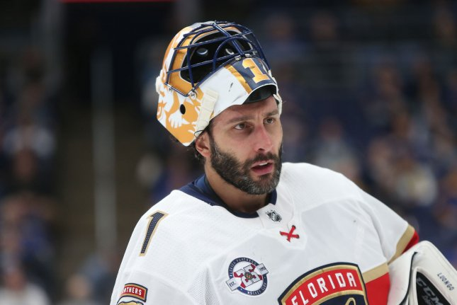 Panthers Goalie Roberto Luongo Announces Retirement Upi Com