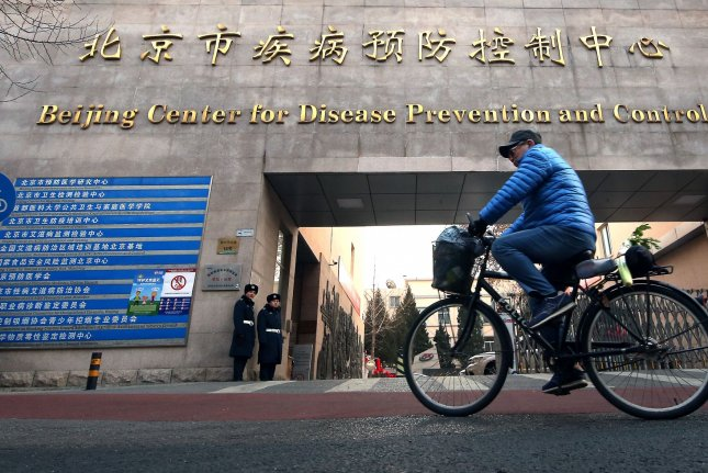 Researchers from the Chinese Center for Disease Control and Prevention are contradicting earlier claims from the Wuhan Municipal Health Committee. File Photo by Stephen Shaver/UPI