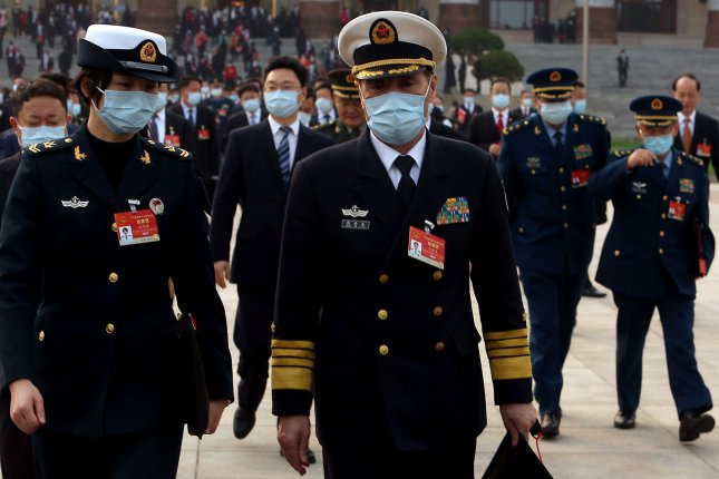 China's defense ministry warned Thursday that Taiwanese independence would mean war as relations remain at a low point between the two sides. File Photo by Stephen Shaver/UPI