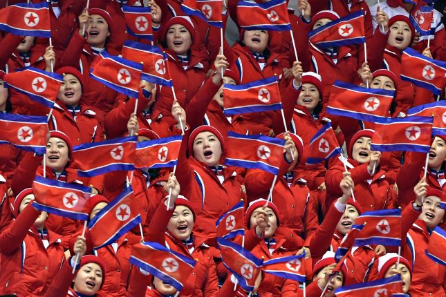 North Korea is suspended for two years and will be unable to participate in the 2022 Beijing Olympics due to its decision to skip the Tokyo summer games, the International Olympic Committee said Wednesday. File Photo by Richard Ellis/UPI