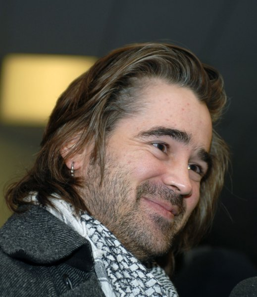 Actor Colin Ferrall attends the premiere of his film In Bruges at the Eccles Theater during the Sundance Film Festival in Park City, Utah on January 17, 2008. (UPI Photo/Alexis C. Glenn)