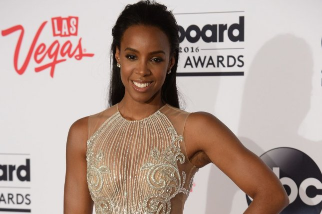 The 10th Date star Kelly Rowland appears backstage during the annual Billboard Music Awards in Las Vegas on May 22, 2016. File Photo by Jim Ruymen/UPI