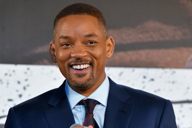 Will Smith met with Formula One driver Lewis Hamilton before his race at the Abu Dhabi Grand Prix. File Photo by Keizo Mori/UPI