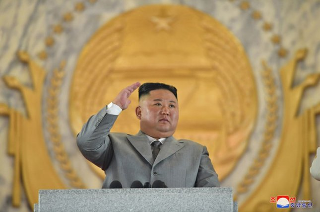 North Korea has instituted a ban on smoking in public places, state-run media announced on Thursday. The country's leader, Kim Jong Un, has been photographed with a cigarette in his hand on several occasions. Photo by KCNA/UPI