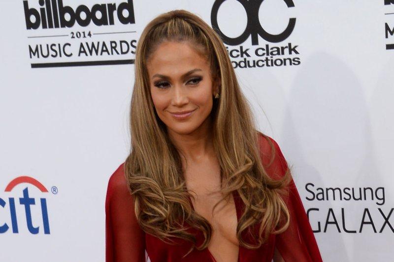 Entertainer Jennifer Lopez. UPI/Jim Ruymen