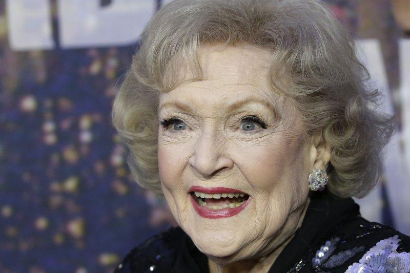 Betty White. Photo by John Angelillo/UPI