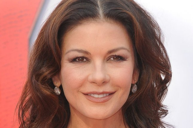 Catherine Zeta-Jones at the London premiere of Ant-Man on July 8, 2015. The actress is returning to TV after 20 years. File photo by Paul Treadway/UPI