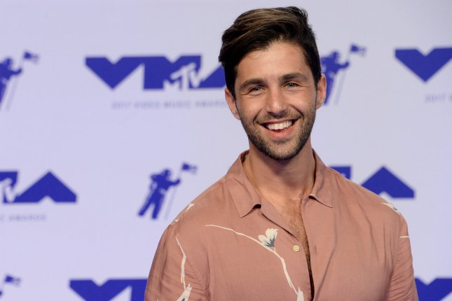 Josh Peck shared a photo on Instagram with pregnant wife Paige O'Brien. File Photo by Jim Ruymen/UPI