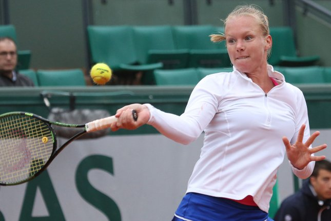 Kiki Bertens of the Netherlands has never advanced to a Grand Slam final. File Photo by David Silpa/UPI